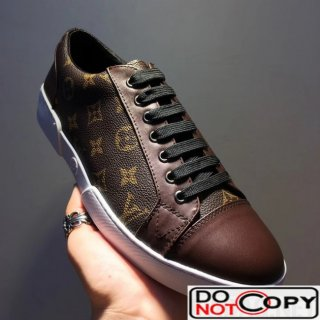 Louis Vuitton Match-up Sneaker 1A2R4V For Men Brown