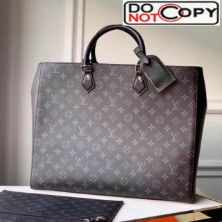 Louis Vuitton Men's Grand Sac Tote Monogram Eclipse Canvas M44733