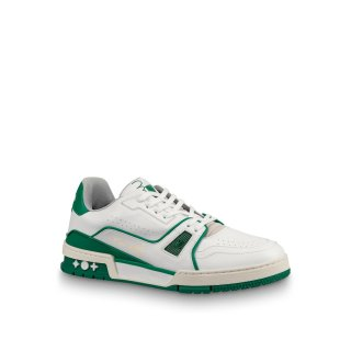 Louis Vuitton Men LV Trainer Sneakers 1A5A0V Green
