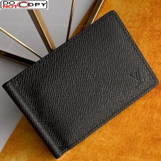 Louis Vuitton Men's Pince Wallet in Black Grained Leather M62978
