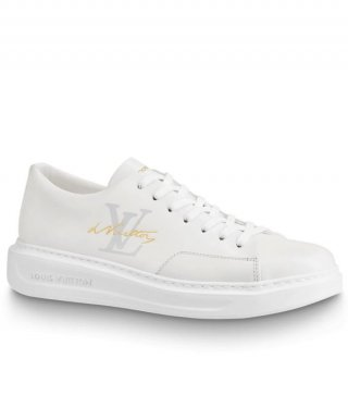 Louis Vuitton Mens Beverly Hills Sneaker 1A4OQL white