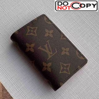 Louis Vuitton Men's Monogram Canvas Pocket Organizer Wallet M68905