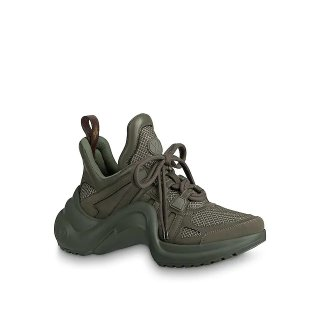 Louis Vuitton Mesh LV Archlight Sneaker Green