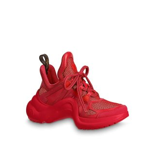 Louis Vuitton Mesh LV Archlight Sneaker Red