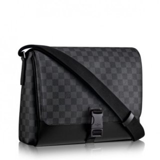 Louis Vuitton Messenger PM Bag Damier Graphite N41457