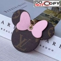 Louis Vuitton Mickey Mouse Bag Charm and Key Holder Pink