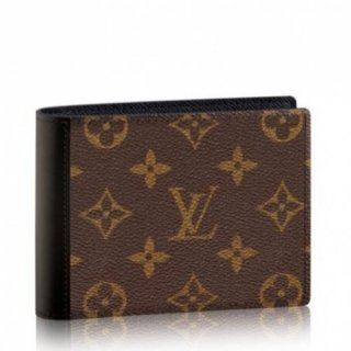 Louis Vuitton Mindoro Wallet Monogram Macassar M60411