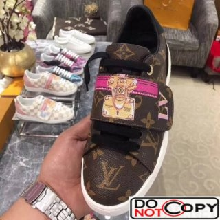 Louis Vuitton Monogram Canvas Frontrow Sneaker 1A43GN