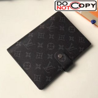 Louis Vuitton Monogram Canvas Medium Ring Agenda Book Cover R20105 05