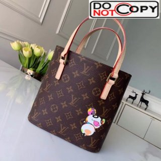 Louis Vuitton Monogram Canvas Tote Bag With Panda Printed