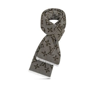 Louis Vuitton Monogram Cozy Wool Scarf 70x200cm M73458 Green