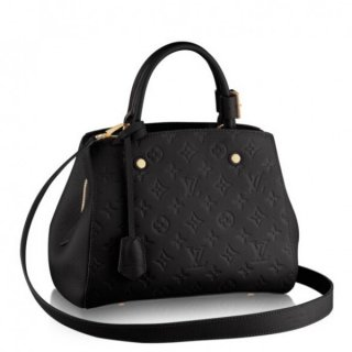 Louis Vuitton Montaigne BB Bag Monogram Empreinte M41053