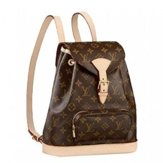 Louis Vuitton Montsouris MM Backpack Monogram M51136