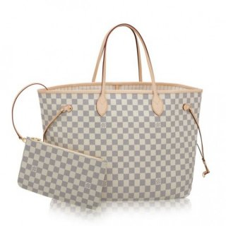 Louis Vuitton Neverfull GM Bag Damier Azur N41360