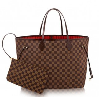 Louis Vuitton Neverfull GM Bag Damier Ebene N41357