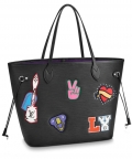 Louis Vuitton Neverfull M52729 Black