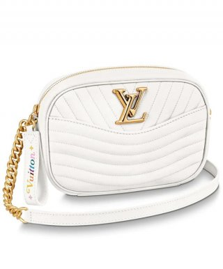 Louis Vuitton New Wave Camera Bag M53682 white