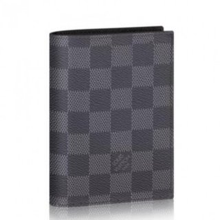Louis Vuitton Passport Cover Damier Graphite N64411