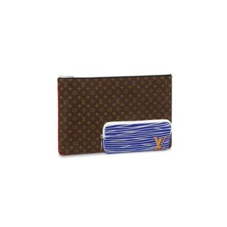 Louis Vuitton Pochette A4 Multipocket Pouch M69690 Monogram Canvas