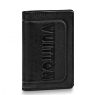 Louis Vuitton Pocket Organizer Dark Infinity Leather M63251