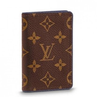 Louis Vuitton Pocket Organizer Monogram Canvas M62219