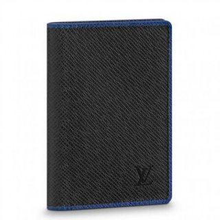 Louis Vuitton Pocket Organizer Taiga Leather M30550