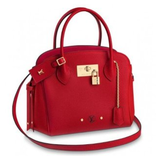 Louis Vuitton Red Milla PM Bag Veau Nuage M54347