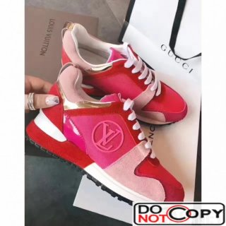 Louis Vuitton Run Away Sneaker Fuchsia