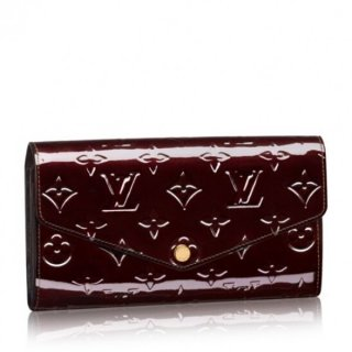 Louis Vuitton Sarah Wallet Monogram Vernis M90152