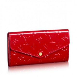 Louis Vuitton Sarah Wallet Monogram Vernis M90208