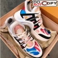 Louis Vuitton Sci fi Graffiti Sneakers 03 New Color