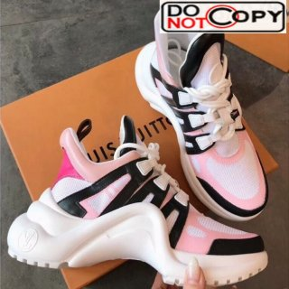 Louis Vuitton Sci fi Sneakers Pink New Color