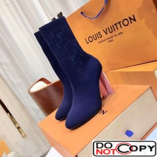 Louis Vuitton Silhouette Ankle Boot 1A3MJ0 Blue
