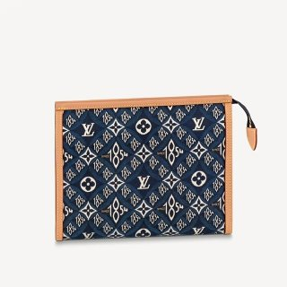 Louis Vuitton Since 1854 Poche Toilette 26 Pouch M80306 Blue