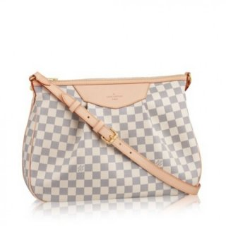 Louis Vuitton Siracusa MM Bag Damier Azur N41112