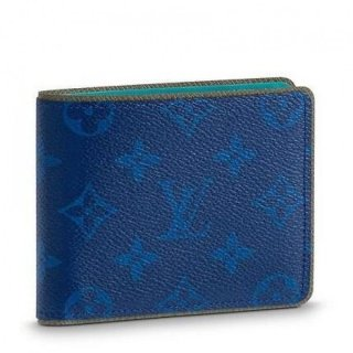 Louis Vuitton Slender Wallet Monogram Pacific M62248