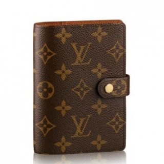 Louis Vuitton Small Ring Agenda Cover Monogram Canvas R20005
