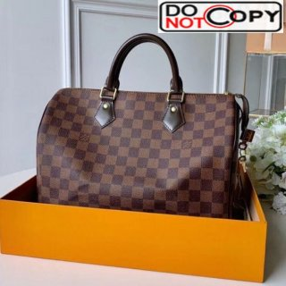 Louis Vuitton Speedy 30 Damier Ebene Canvas Top Handle Bag N41364