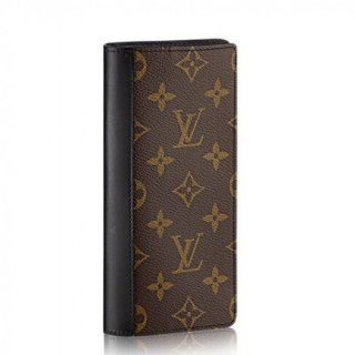 Louis Vuitton Tanon Wallet Monogram Macassar M93800