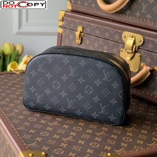 Louis Vuitton Toiletry Bag 25 N47527 Black Monogram Canvas