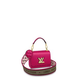 Louis Vuitton Twist Mini Bag in Epi Leather M57063 Pink Rose
