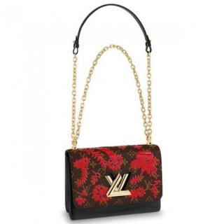 Louis Vuitton Twist MM Bag Monogram Blossom M43639