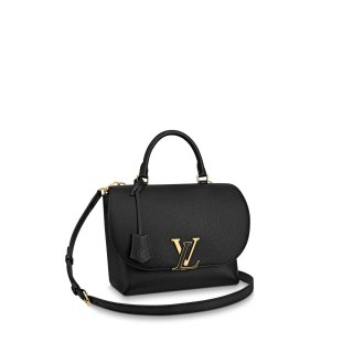 Louis Vuitton Volta LV Flap Top Handle Bag M53771 Black