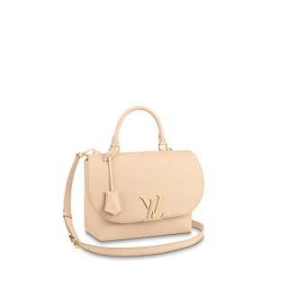 Louis Vuitton Volta LV Flap Top Handle Bag M55060 Cream White
