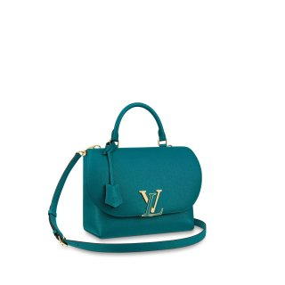 Louis Vuitton Volta LV Flap Top Handle Bag M55222 Blue