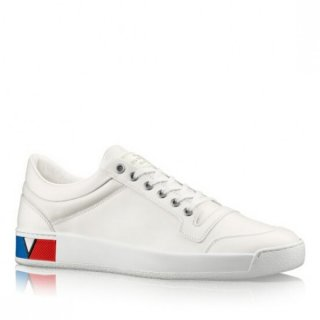 Louis Vuitton White Supersonic Sneaker