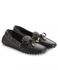 Louis Vuitton Womens Gloria Loafer 1A3YSC Black