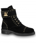 Louis Vuitton Womens Wonderland Ranger Boot 1A4G18 Black
