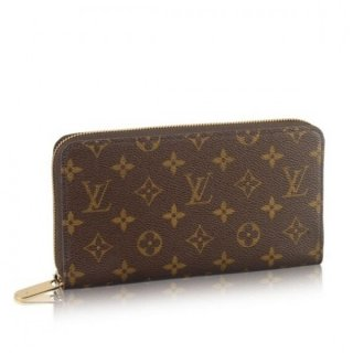 Louis Vuitton Zippy Organizer Monogram Canvas M60002