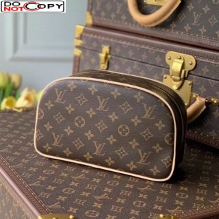 Louis Vuitton Toiletry Bag 25 M47527 Monogram Canvas/Pink